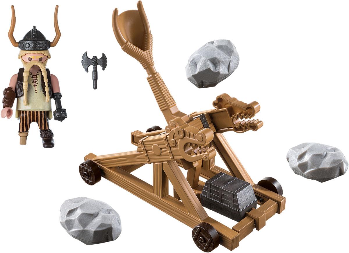 Playmobil Игровой набор Драконы Гоббер с катапультой