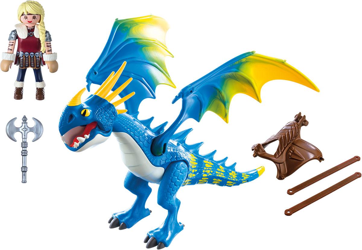 Playmobil Игровой набор Драконы Астрид и Громгильда