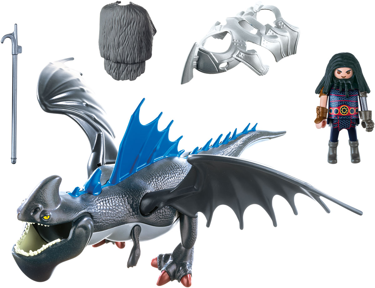 Playmobil Игровой набор Драконы Драго и Громокоготь