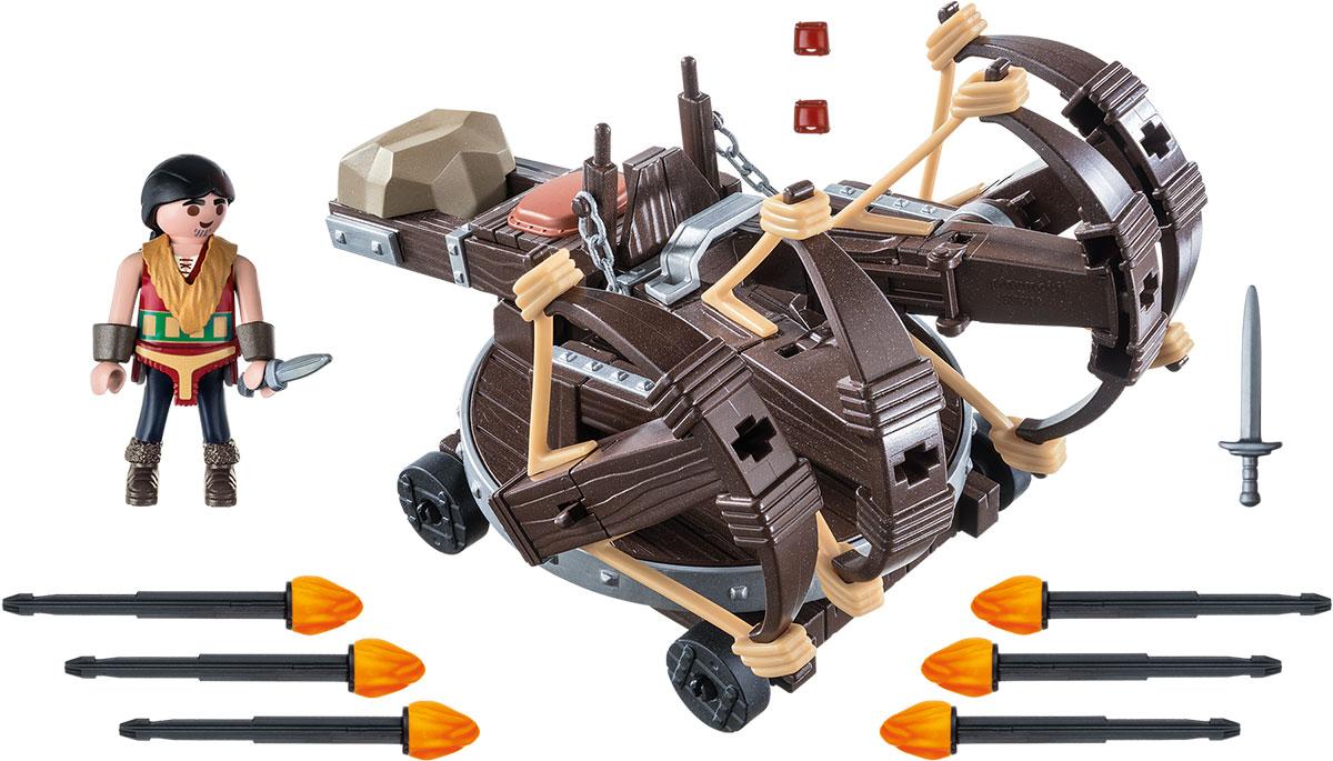 Playmobil Игровой набор Драконы Эрет с баллистой playmobil игровой набор аквариум рыба меч с детенышем