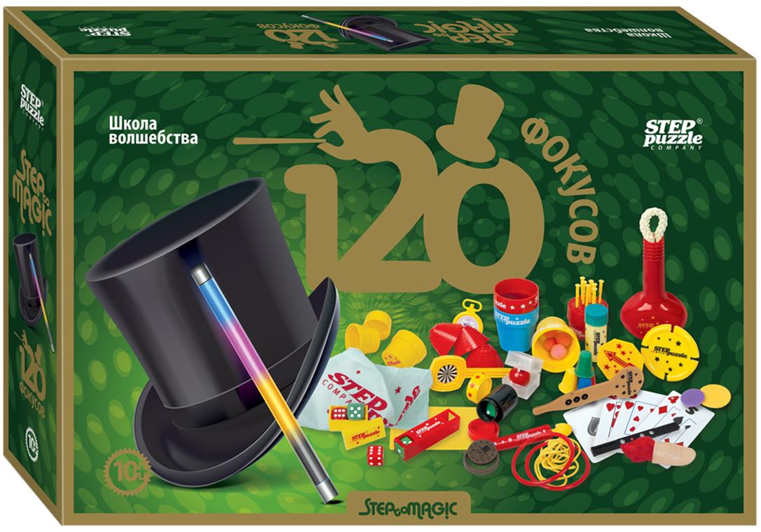 Step Puzzle Настольная игра 120 фокусов настольная игра step puzzle развивающая чей домик 76012