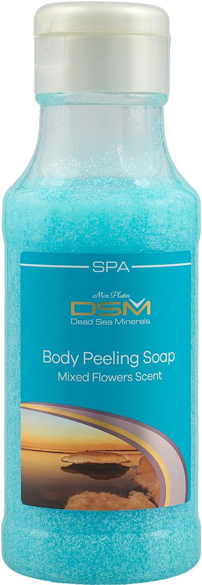 Mon Platin DSM Мыло-пилинг для тела (цветы) 400 мл