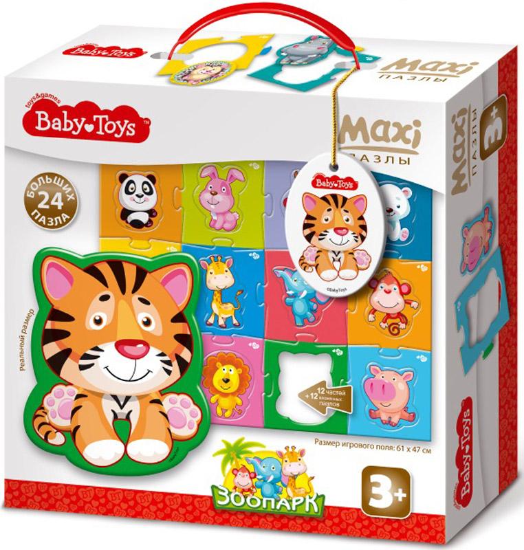 Baby Toys Пазл для малышей Maxi Зоопарк baby toys макси пазлы baby toys тройные складываем вычитаем