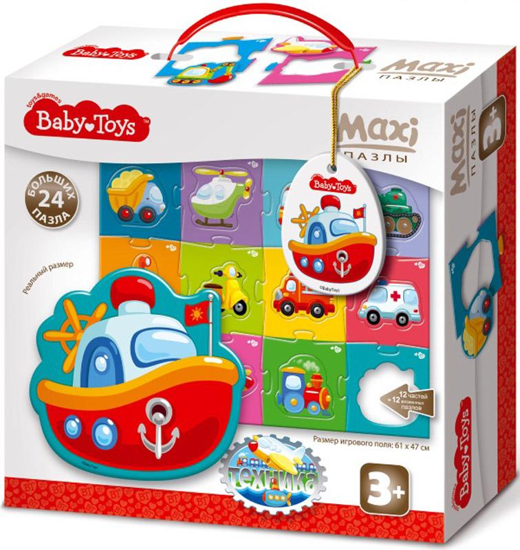 Baby Toys Пазл для малышей Maxi Техника baby toys макси пазлы baby toys тройные складываем вычитаем