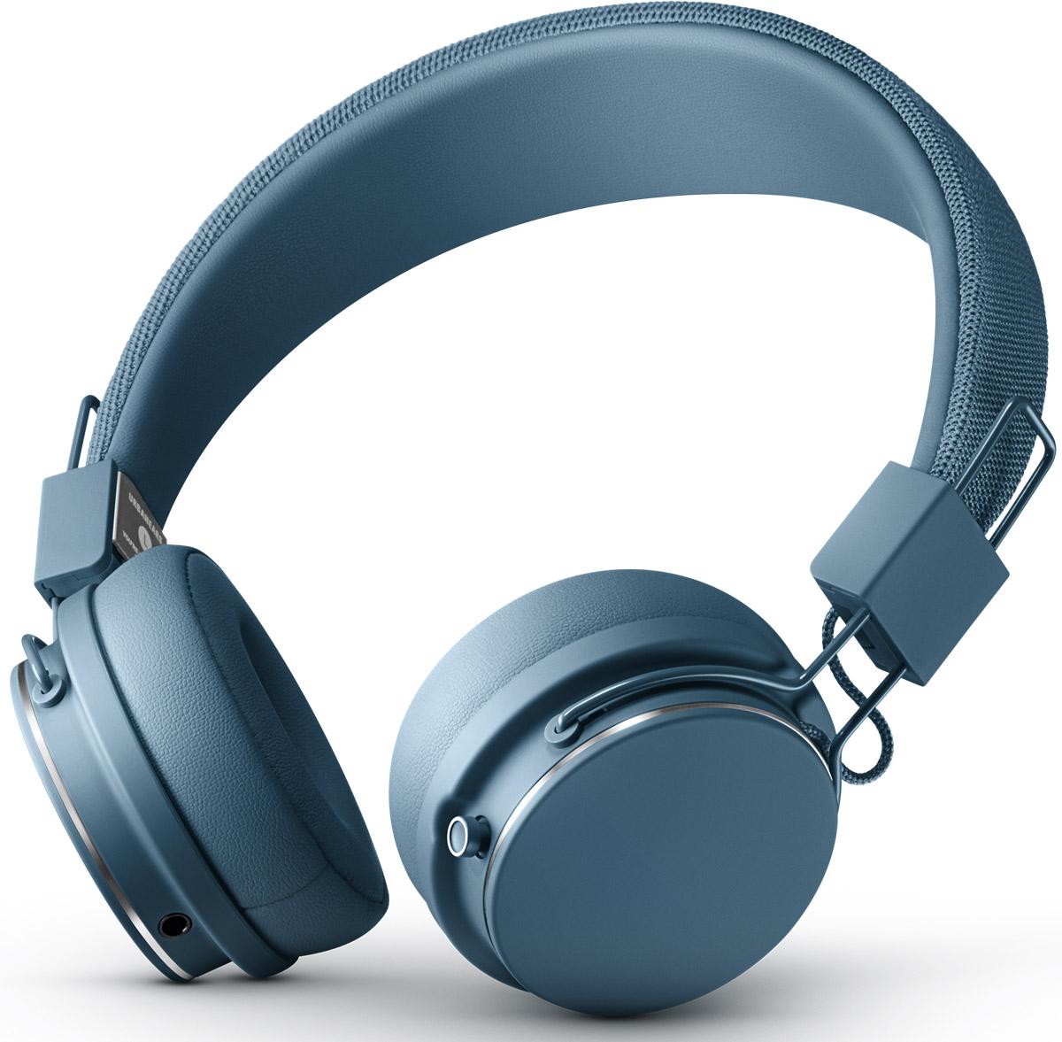 все цены на Беспроводные наушники Urbanears Plattan 2 Bluetooth, синий онлайн
