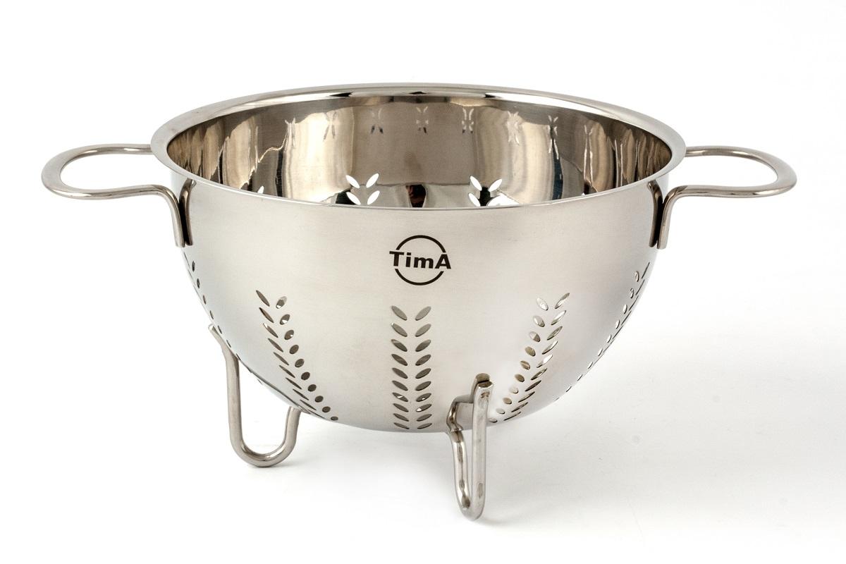 """Дуршлаг """"TimA"""", диаметр 22 см, 6 л"""