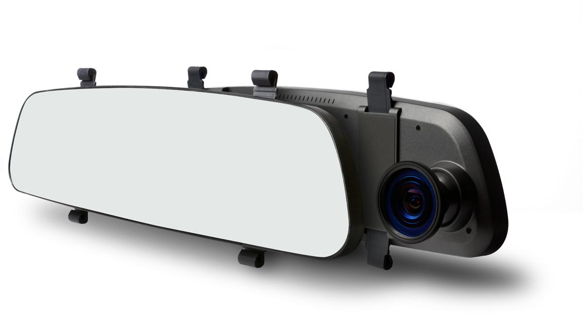 TrendVision MR-710 GNS, Grey видеорегистратор-зеркало видеорегистратор trendvision mr 700 gns черный