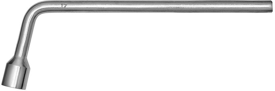 Ключ баллонный Г-образный Kraft Master, 17 мм ключ г образный баллонный 22 мм