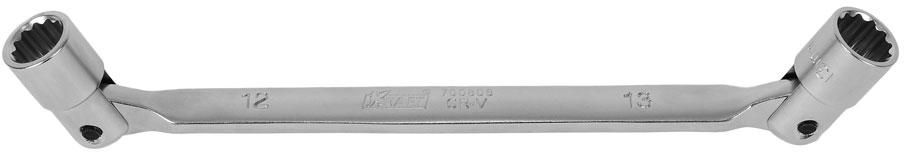 Ключ шарнирный Kraft Professional, 12 х 13 мм