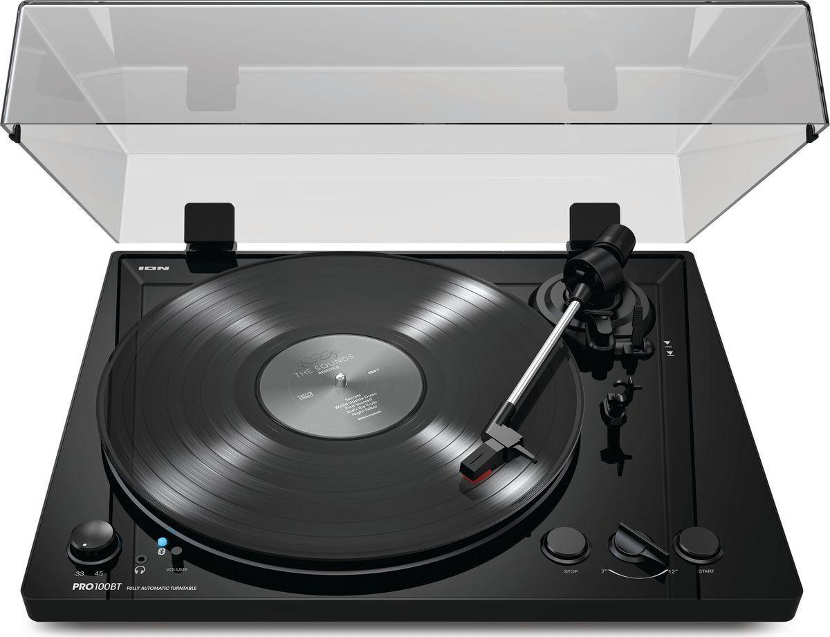 Проигрыватель виниловых дисков ION Audio PRO 100BT, Black пейзаж sansui evd 315 dvd проигрыватель vcd проигрыватель hdmi hd проигрыватель hd проигрыватель cd проигрыватель тигр проигрыватель дисков