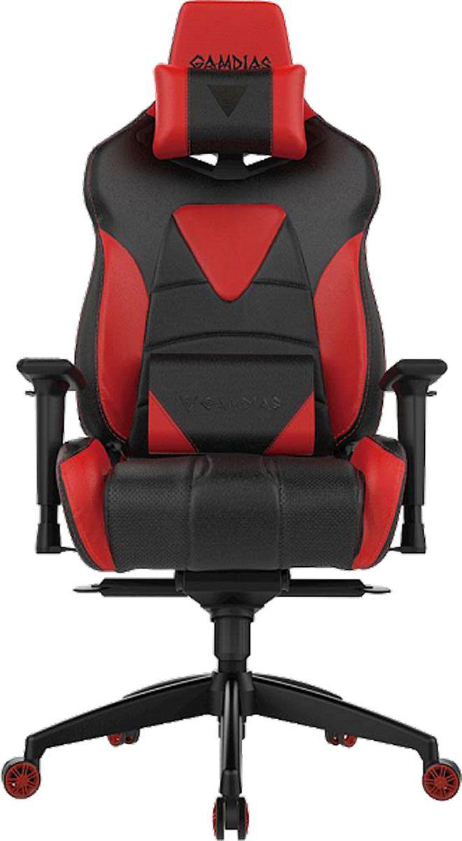 Gamdias Hercules M1, Black Red профессиональное геймерское кресло кресло компьютерное gamdias hercules m1 black red air rgb
