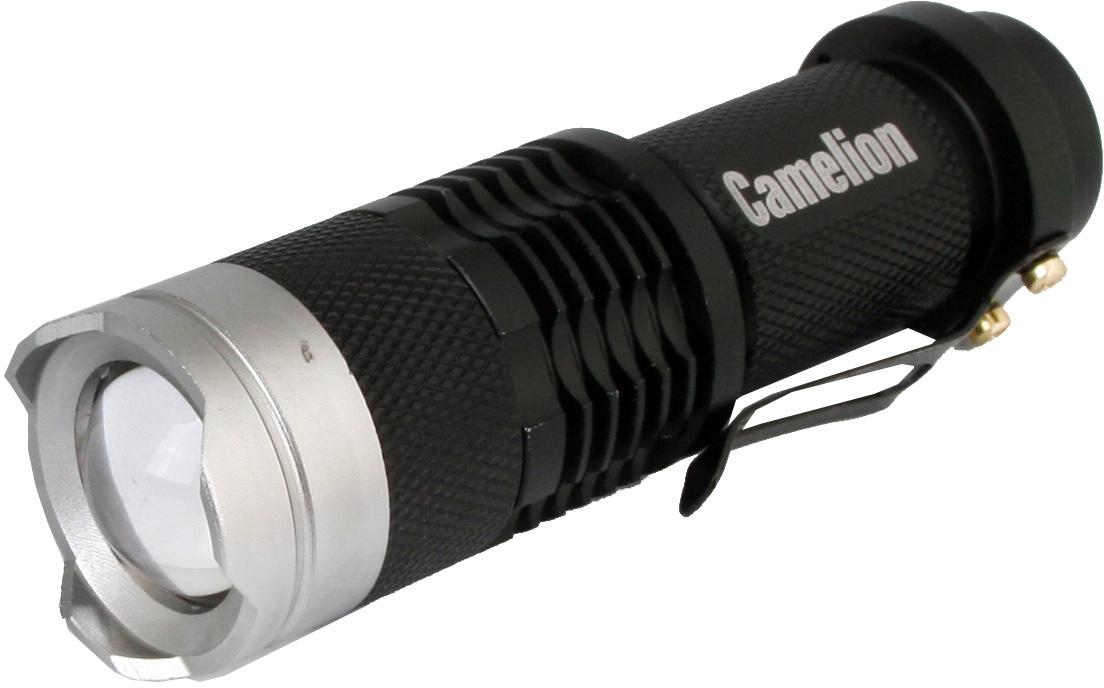 """Фонарь ручной Camelion """"LED5135"""", цвет: черный, серый металлик"""