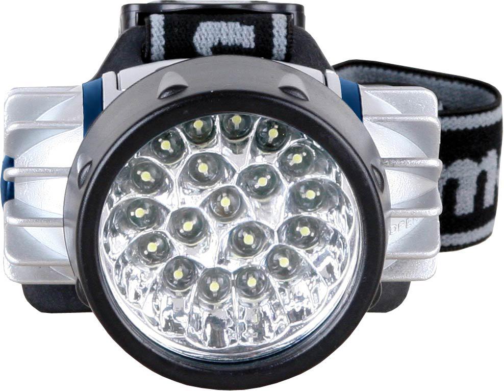 Налобный фонарь Camelion LED5323-19Mx, серый металлик