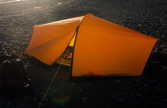"""Тент каркасный Сплав """"Nomad"""", 2-местный, цвет: оранжевый"""