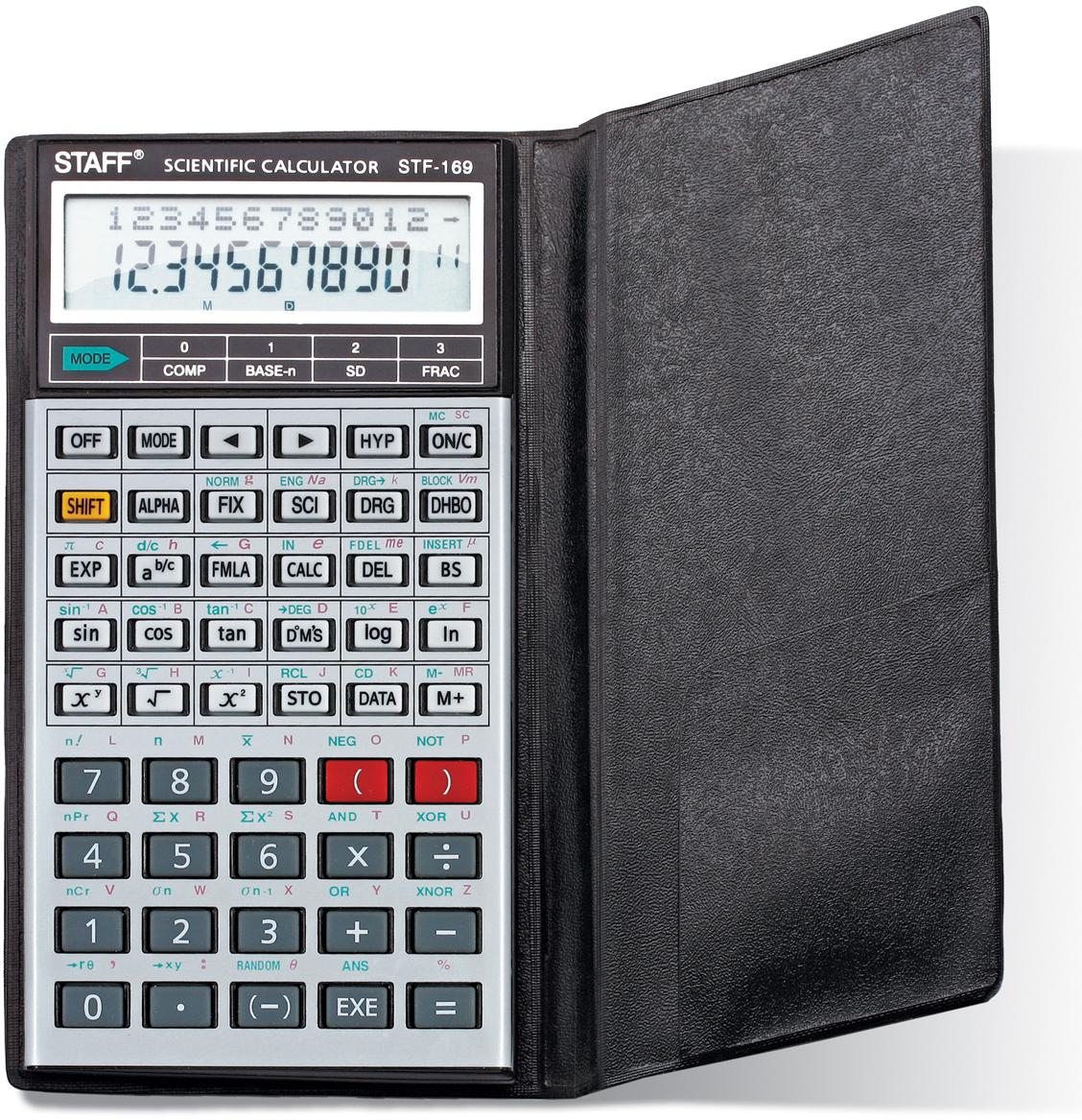 Staff Калькулятор инженерный двухстрочный STF-169. 250138 калькулятор staff stf 310