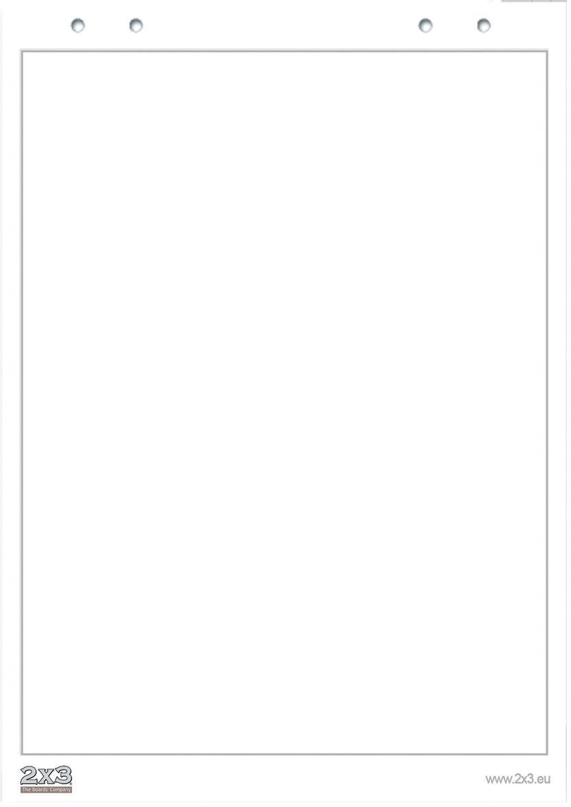 2х3 Блокнот для флипчарта 20 листов без разметки