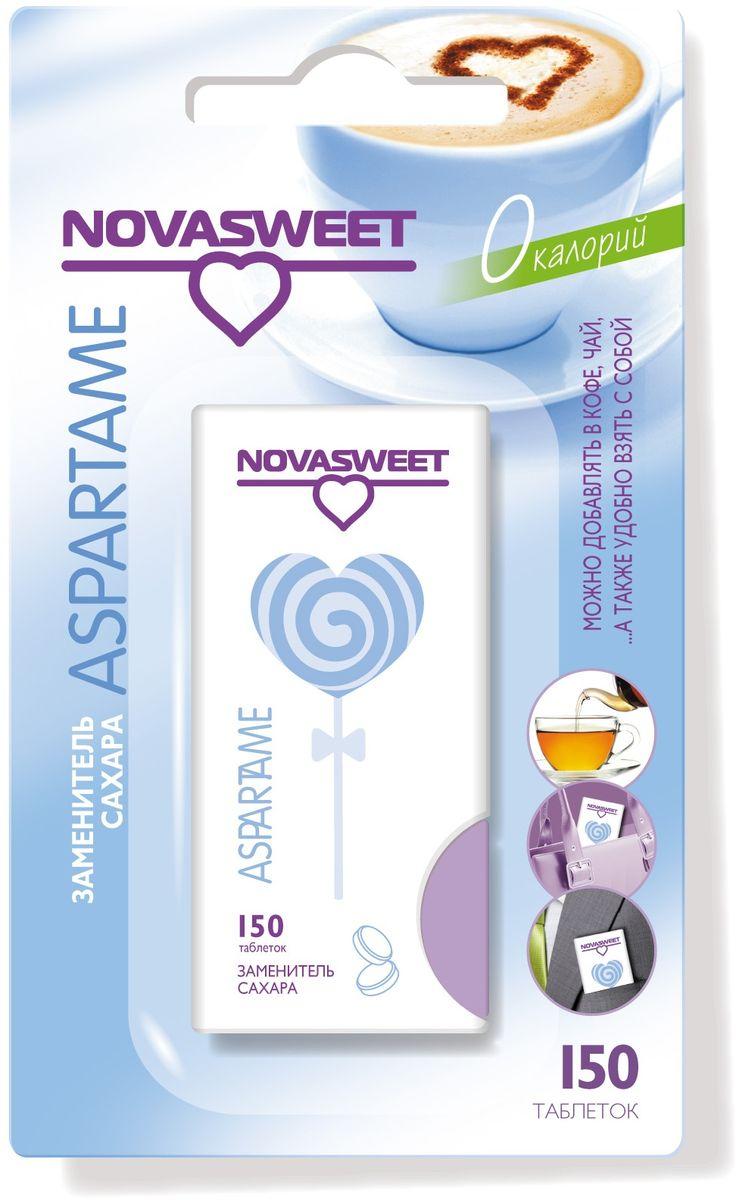 Nowasweet Аспартам подсластитель в таблетках , 150 шт подсластитель заменитель сахара milford 100 таблеток 340г