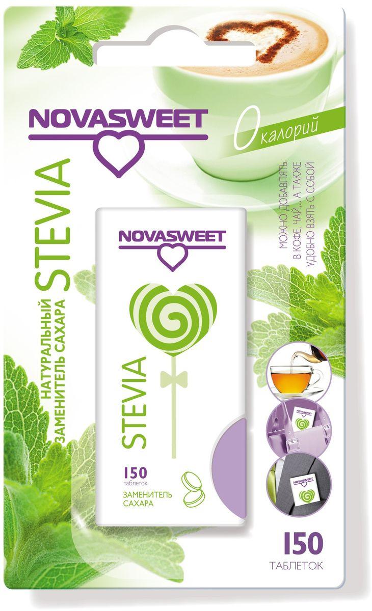 Nowasweet Стевия подсластитель в таблетках, 150 шт bio tradition стевия натуральный заменитель сахара 30 г