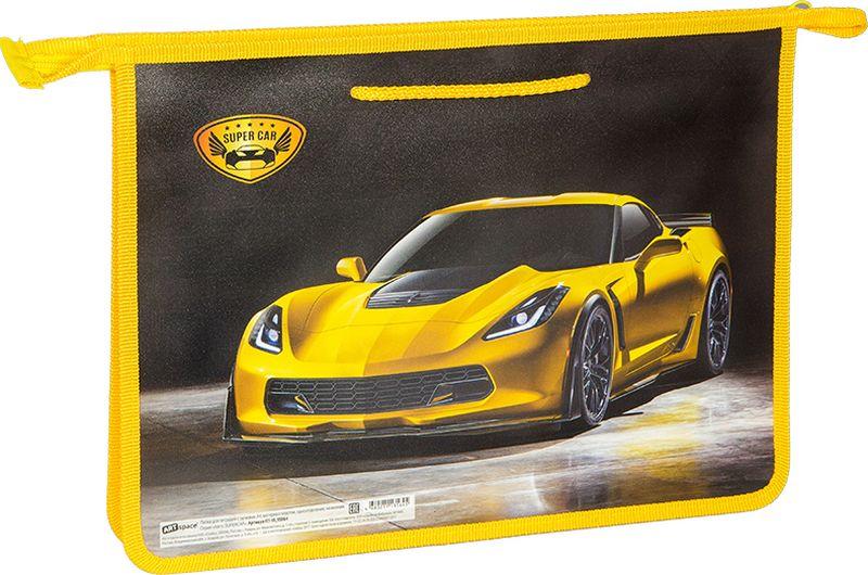 Фото - ArtSpace Папка Авто Supercar А4 цвет желтый черный авто