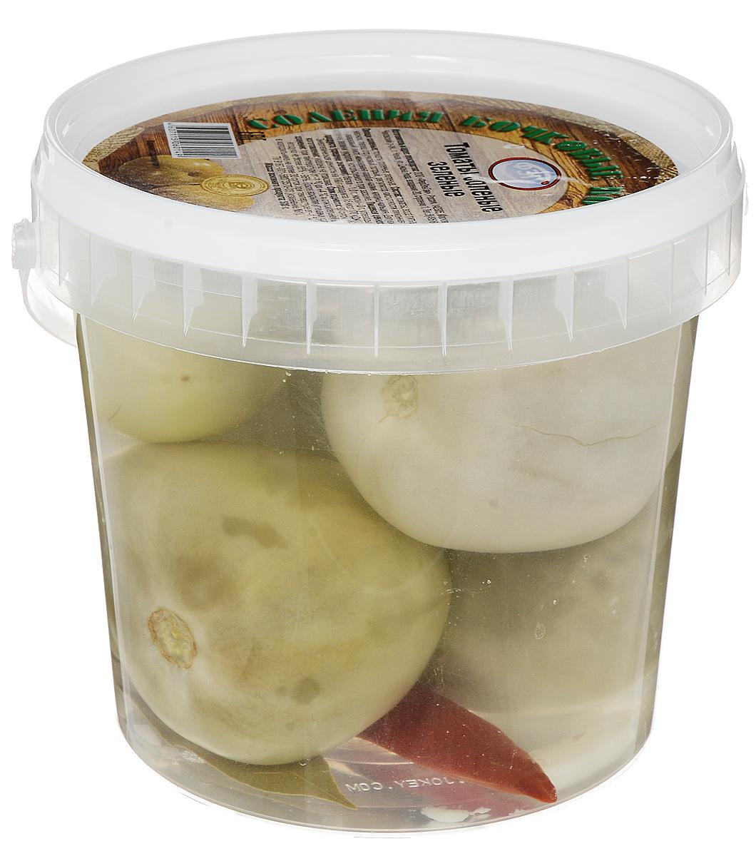 ФЭГ Томаты соленые зеленые, 1000 г11330Соленые помидоры содержат в себе практически все полезные вещества, идентичные свежим плодам. В этом овоще находится природный и очень полезный антиоксидант – ликопин. В данное блюдо добавляются клюква и брусника.