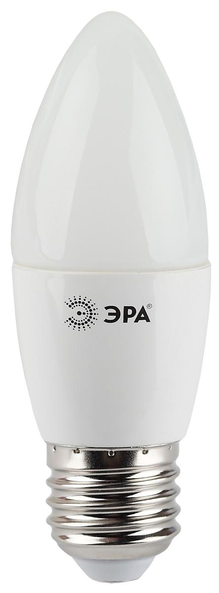 Лампа светодиодная ЭРА, цоколь E27, 7W, 2700K. B35-7w-827-E27 лампа светодиодная эра b35 7w 827 e14