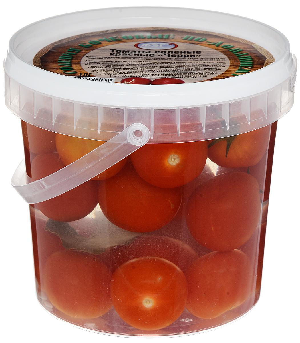 Фото - ФЭГ Помидоры красные Черри, соленые, 1000 г фэг чеснок белый соленый дольки 250 г