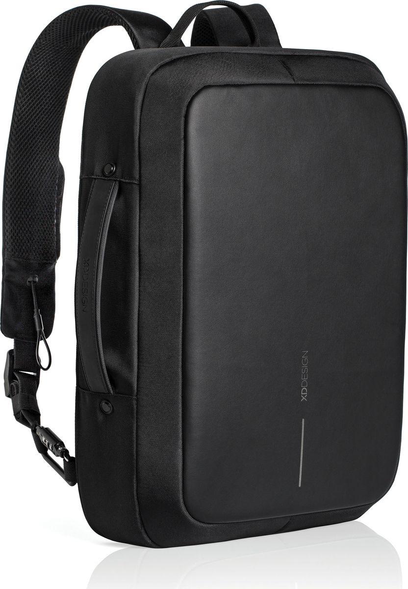 Рюкзак для ноутбука XD Design Bobby Bizz, до 15,6, цвет: черный рюкзак для ноутбука xd design bobby до 15 6 цвет черный с серой подкладкой 13 л