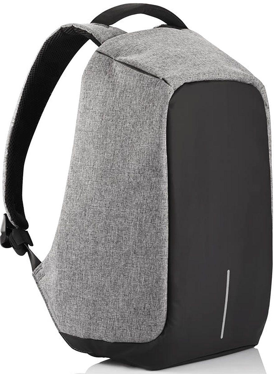 Рюкзак для ноутбука до 15 XD Design Bobby, цвет: серый. Р705.542 xd design bobby compact для ноутбука 14 желто серый