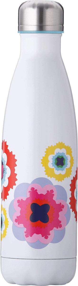 Бутылка-термос French Bull Sus, цвет: белый, мультиколор, 500 мл