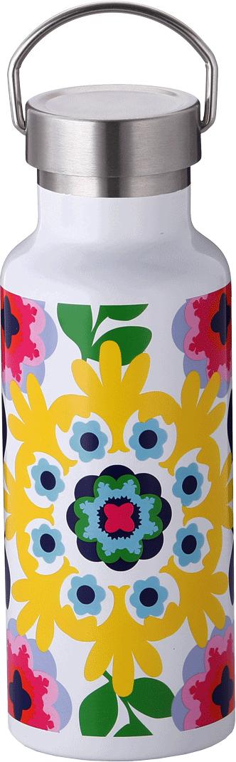 Бутылка-термос French Bull Sus, цвет: белый, мультиколор, 500 мл. VF-50LSU