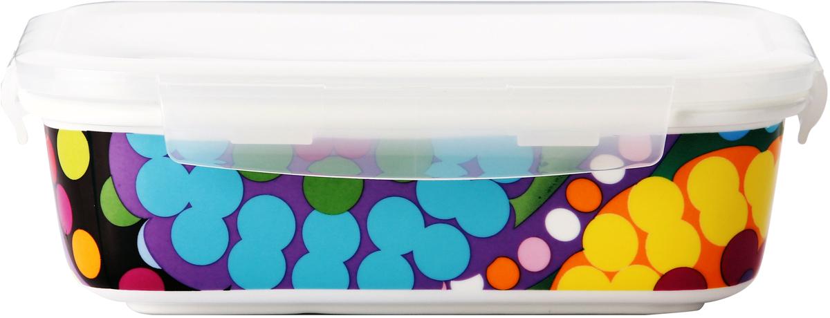 Контейнер пищевой French Bull Ziggy, цвет: мультиколор, 670 мл кружка 0 27 л french bull ziggy hp mk p27f ziggy