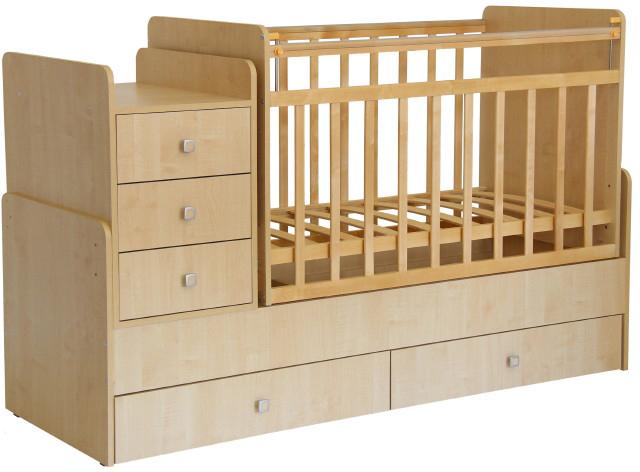 Кровать детская Фея, 0001033.1, клен