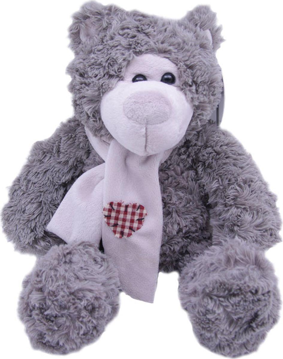 Magic Bear Toys Мягкая игрушка Мишка Эдгар в шарфе 25 см светильник полярный мишка в шарфе 16 см
