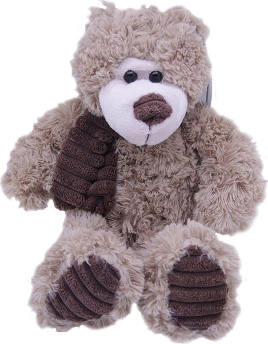 Magic Bear Toys Мягкая игрушка Мишка Норман в шарфе 18 см светильник полярный мишка в шарфе 16 см