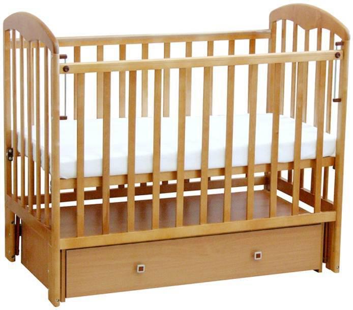 Кровать детская Фея, 0003020, натуральный
