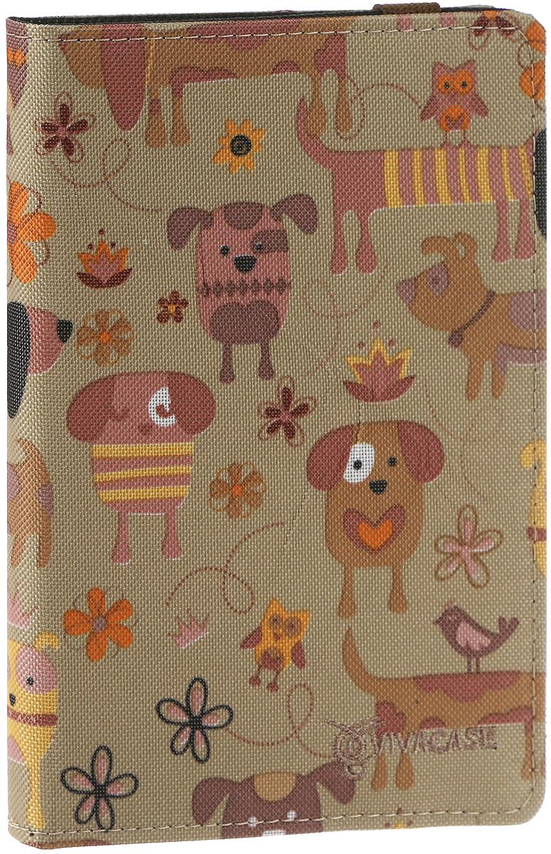 Vivacase Doggy универсальный чехол-обложка для планшетов 7 (VUC-CDG07) amouage honour woman shower gel