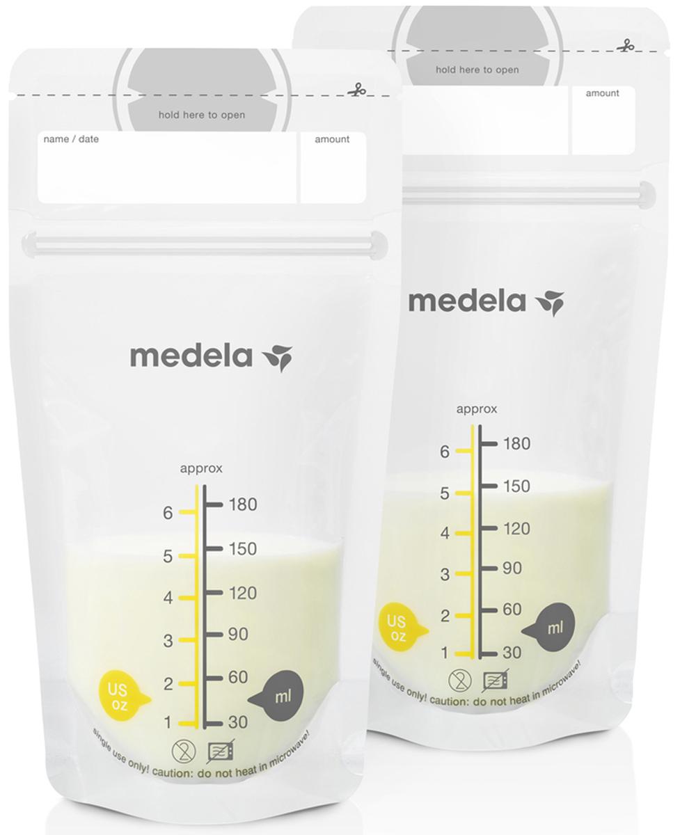 Medela Пакеты для грудного молока Breast Milk Storage Bags 25 шт цена