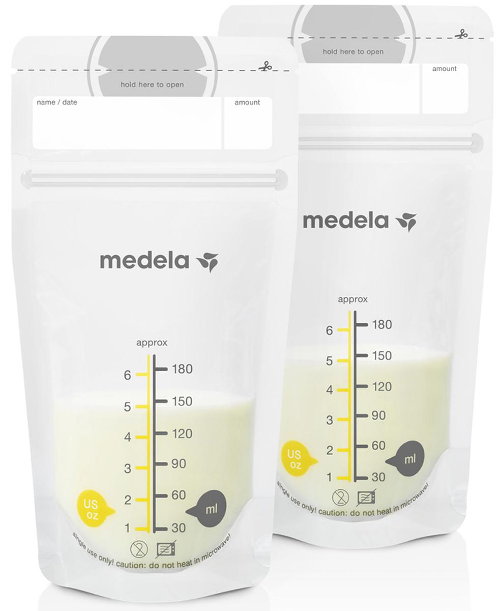 Medela Пакеты для грудного молока Breast Milk Storage Bags 50 шт цена