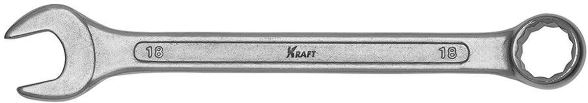 Ключ комбинированный Kraft Master, 18 мм