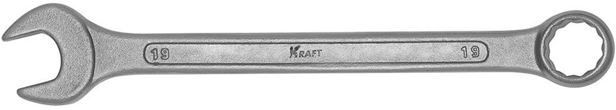 Ключ комбинированный Kraft Master, 19 мм
