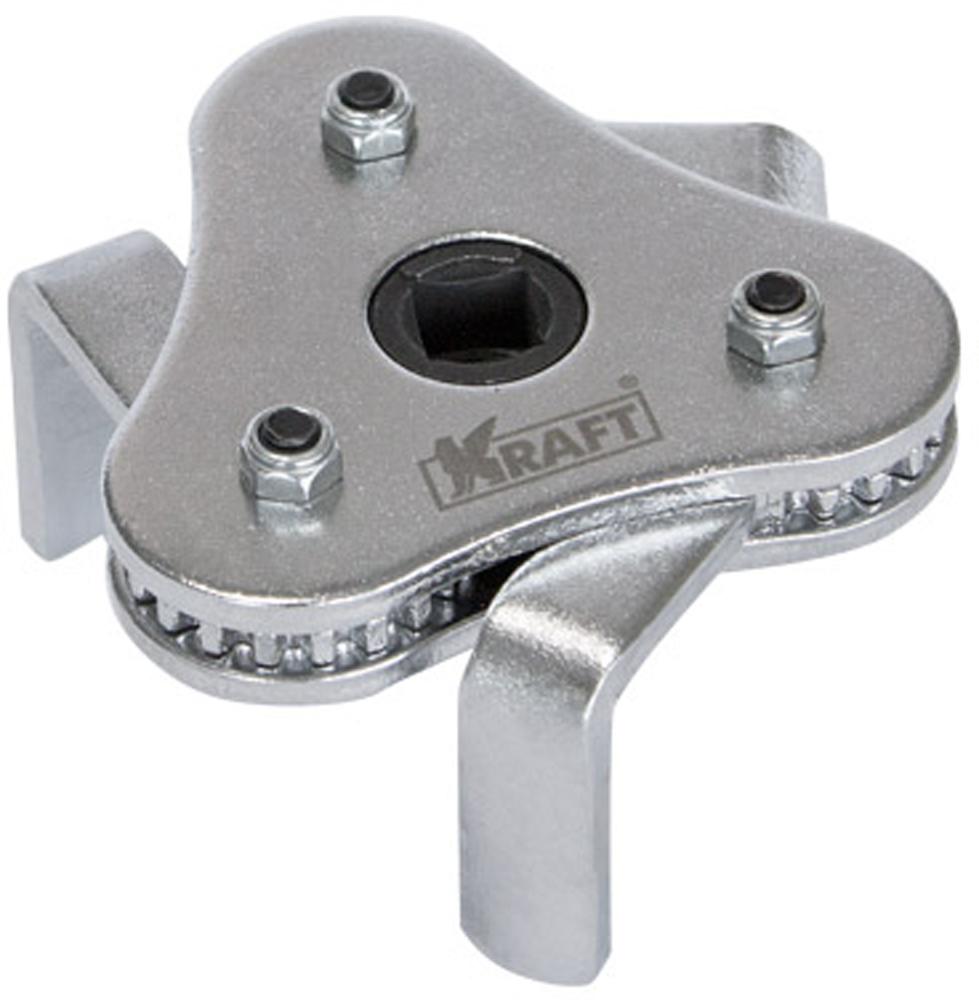 Съемник масляных фильтров Kraft Professional, краб, 63-102 мм