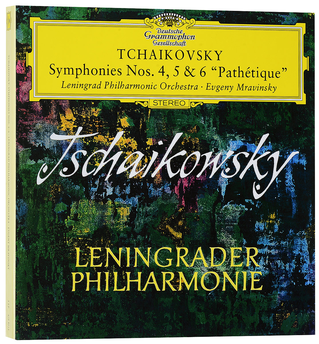 Ленинградский филармонический оркестр Leningrad Philharmonic Orchestra, Jewgenij Mrawinskij. Tchaikovsky: Symphonies Nos.4, 5 & 6