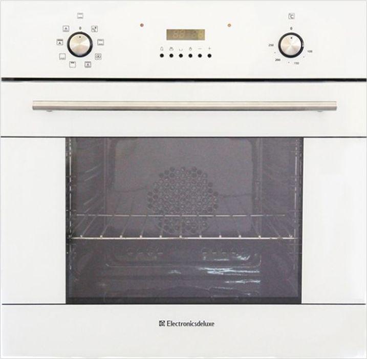 Духовой шкаф Electronicsdeluxe 6009.02эшв-012, электрический, белый все цены