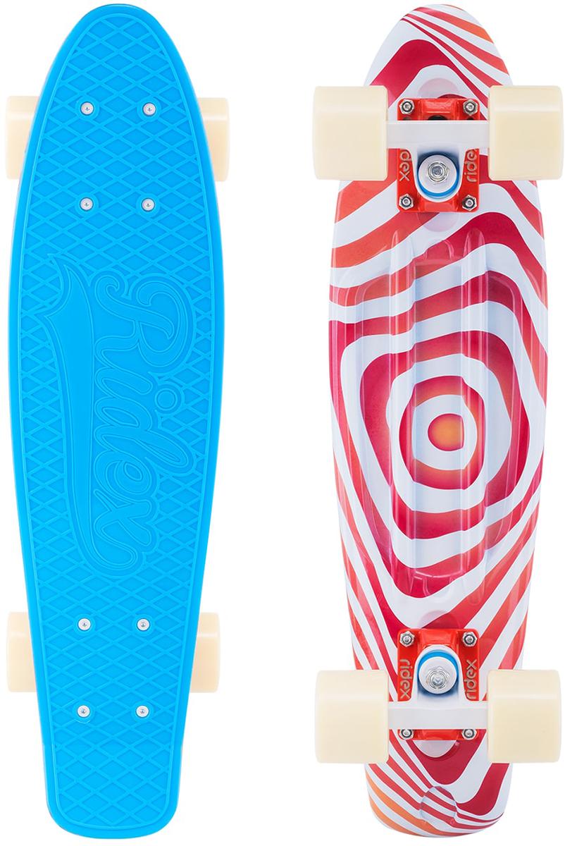 Круизер Ridex Crisp, голубой, разноцветный