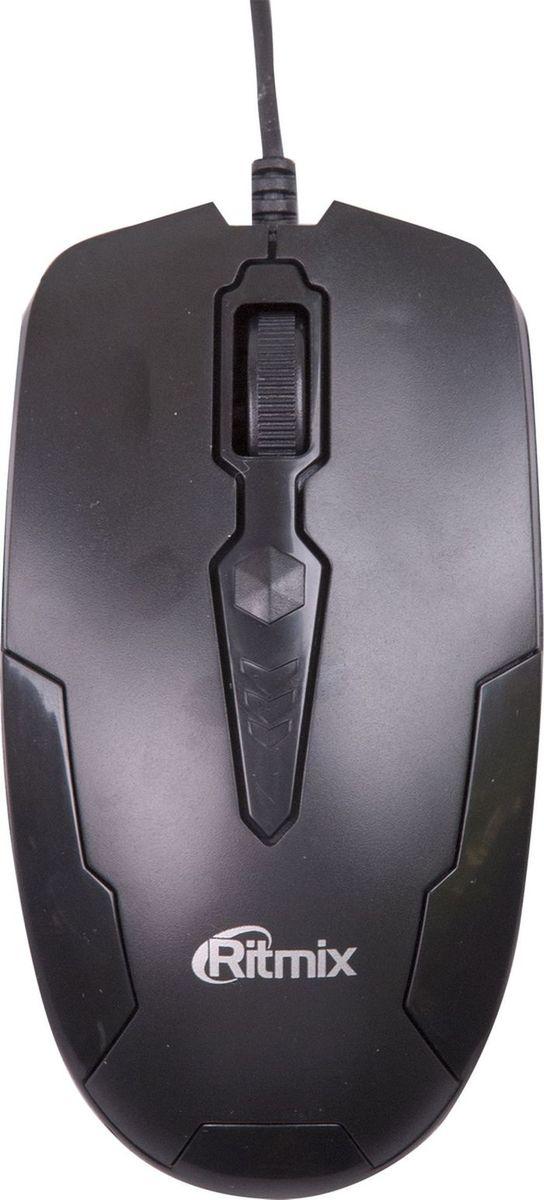 Ritmix ROM-210, Black проводная мышь мышь проводная ritmix rom 303 чёрный usb