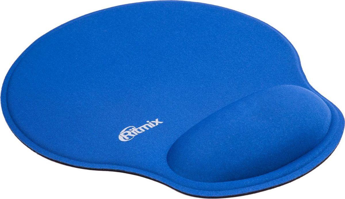 лучшая цена Коврик для мыши Ritmix MPD-045 Buble, Blue