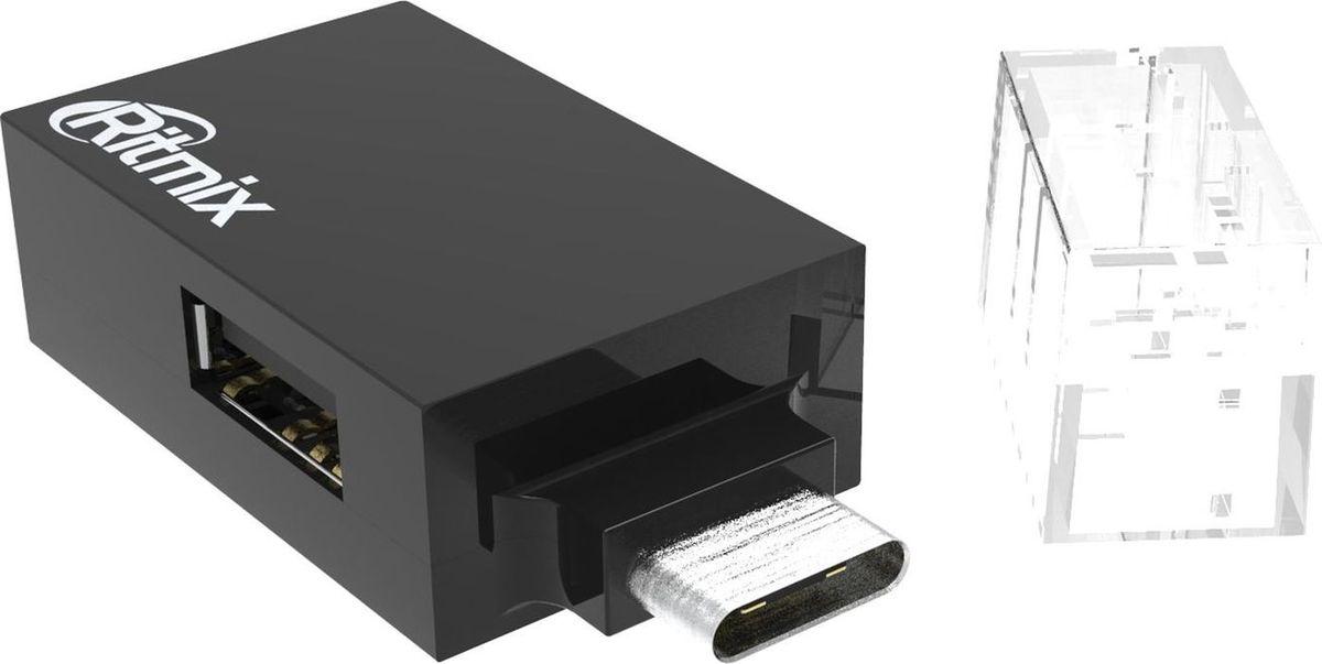 Ritmix CR-3391, Black USB-концентратор концентратор usb 2 0 ritmix cr 2322 2 х usb 3 0 черный