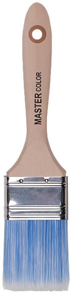 Кисть флейцевая Master Color Pro, искусственная щетина, 70 мм30-0035Высококачественная, расщепленная на концах, синтетическая щетина с волосками конической формы для максимально равномерного распределения материала на поверхности. Оптимально подходит для лаков и красок на водной основе. Нержавеющий обжим. Эргономичная ручка из твердого дерева. Дополнительная фиксация обжима на заклепки.