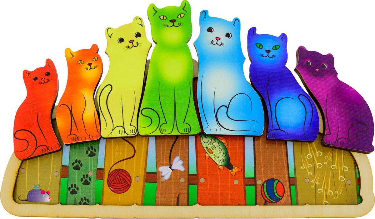 Обучающая игра АНДАНТЕ 282860 красный, синий, желтый, зеленый, оранжевый, голубой, фиолетовый анданте мемо обучающая игра найди пару формы и цвета 24 фишки