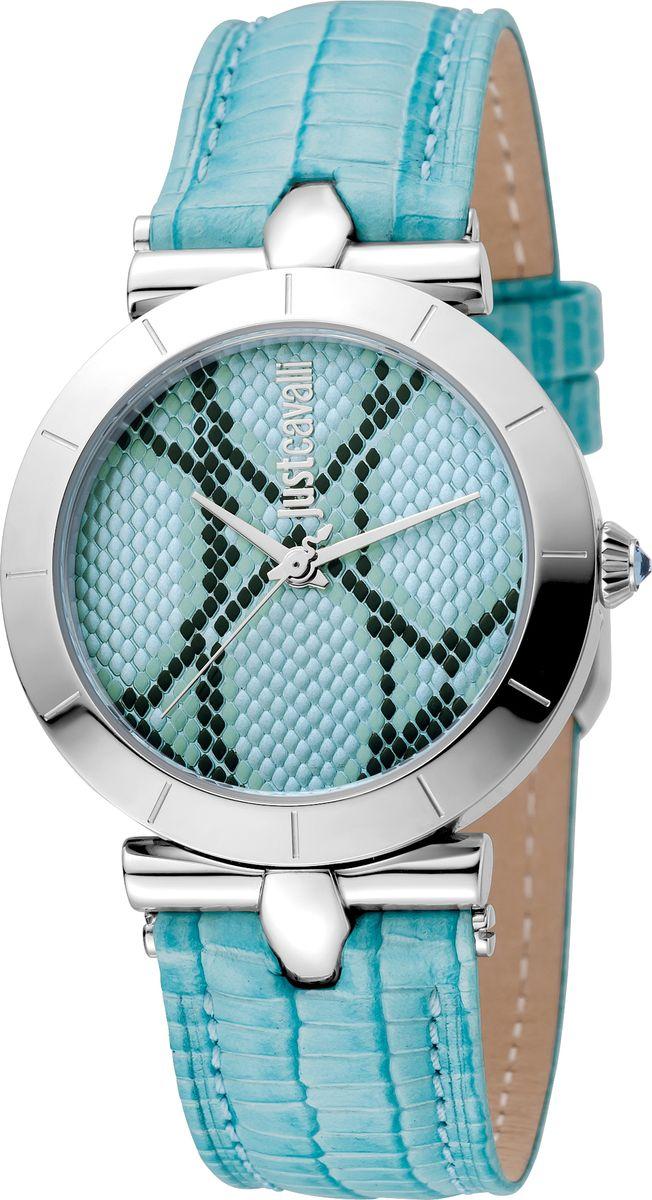 Часы наручные женские Just Cavalli Devore, цвет: голубой. JC1L005L0015 все цены